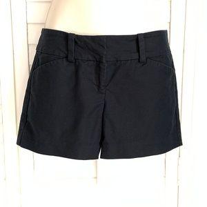 Ann Taylor Signature Black Shorts Size 0P